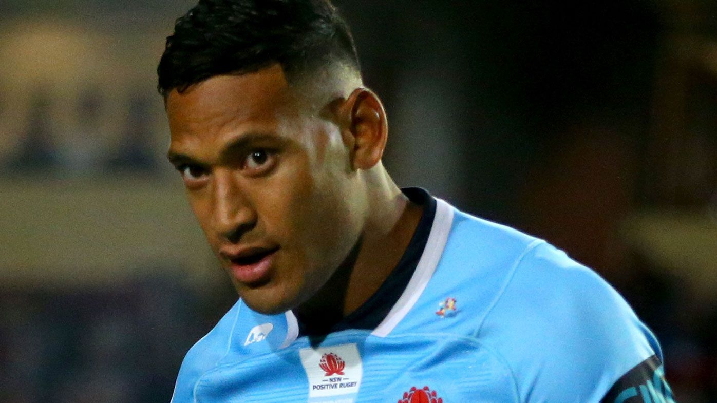 NSW Waratahs gutted to hear Israel Folau may want out