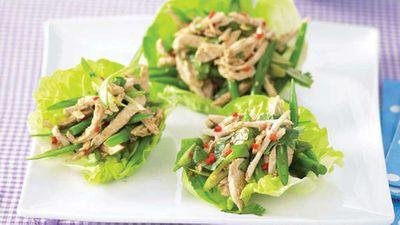 """<a href=""""http://kitchen.nine.com.au/2016/05/13/11/04/thai-chicken-lettuce-wraps"""" target=""""_top"""">Thai chicken lettuce wraps</a> recipe"""