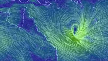 Tropical Cyclone Linda forms off the Queensland coast