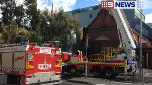 "The Holy Church of ""The Annunciation of Our Lady"" is Victoria's oldest Greek Orthodox church. (9NEWS)"