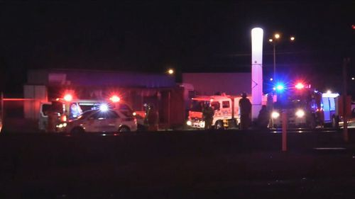 The collision happened around 6.30pm yesterday in Bairnsdale, where a Traralgon-bound V-Line train was crossing Ligar Street.