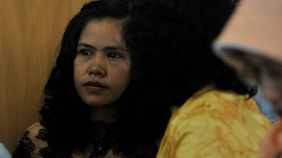 Mary Jane Veloso, 30, Philippines. Heroin smuggling. Veloso was found with 2.2kg of heroin in her suitcase after she landed in Yogyakarta in 2010. She told authorities she had been promised a job as a maid and that her bag had been packed for her by her recruiter. (Getty Images)