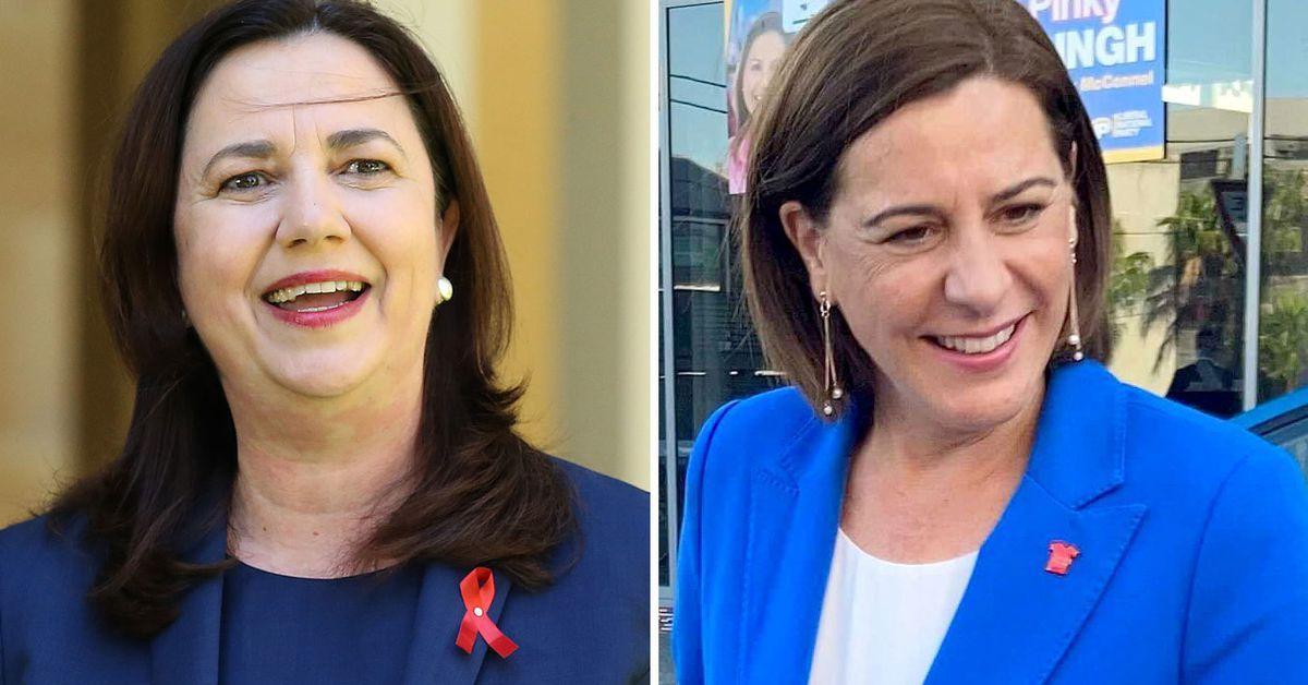 Voters head to polls amid Annastacia Palaszczuk, Deb Frecklington clash on border, economy