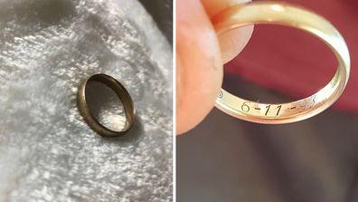 girl finds wedding ring owner