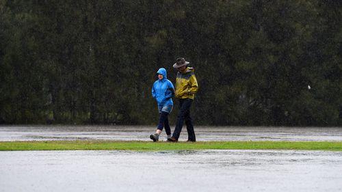 Heavy rain set to soak eastern New South Wales