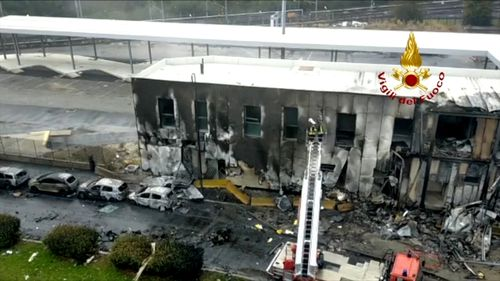 The plane Dan Petrescu, 68, was piloting crashed into a building in Italy