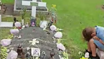 One of those gravesites belongs to 8-year-old Oliver Tianen who lost his battle with cancer in 2018.