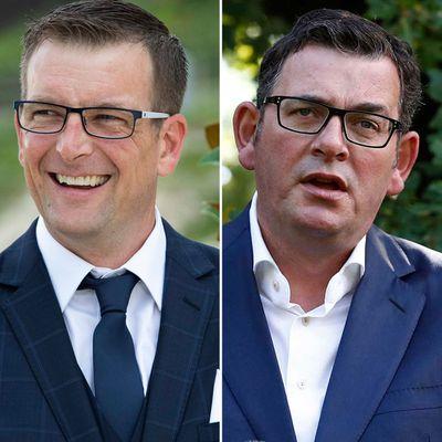 Russell and Premier Dan Andrews