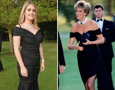 11 Times Lady Kitty Spencer Dressed Like Princess Diana 9honey