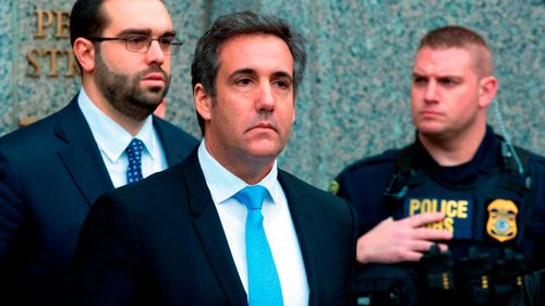 Another lawsuit that relates to a nondisclosure agreement signed by Trump's 'fixer' Michael Cohen is ongoing.