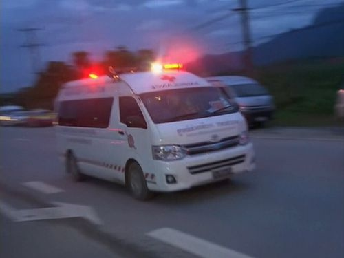 Ambulances have been seen leaving the cave area.