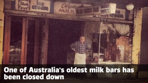 One of Australia's oldest milk bars has closed down