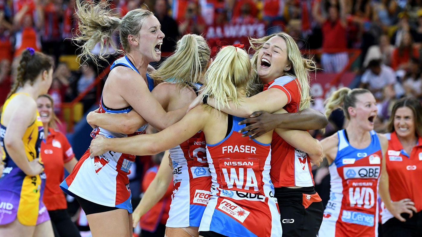 NSW Swifts win maiden Super Netball title