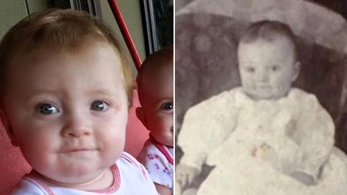Father finds 109-year-old photo of great grandfather with 'jaw dropping' resemblance to his young son