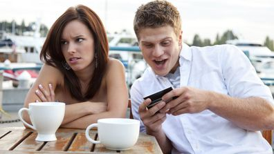 Woman dates man who is obsessed with virtual wife