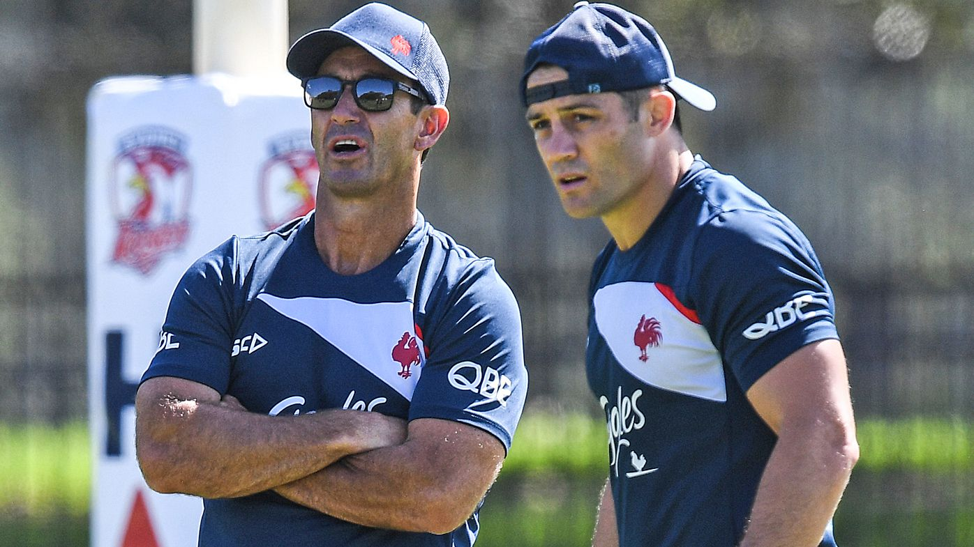 Andrew Johns denies playing double-agent working in coaching role for Roosters ahead of clash against Newcastle