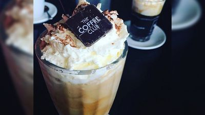 <p>The Coffee Club's iced coffee may be more of an obviously sweet treat, but it contains 163 percent of an adult's daily saturated fat allowance, with 39g per serve. </p><p>(Instagram)</p>