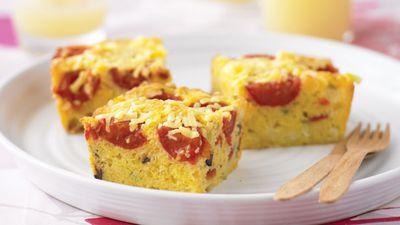 """Recipe: <a href=""""https://kitchen.nine.com.au/2016/05/13/11/37/polenta-and-vegetable-bread"""" target=""""_top"""">Polenta and vegetable bread</a>"""