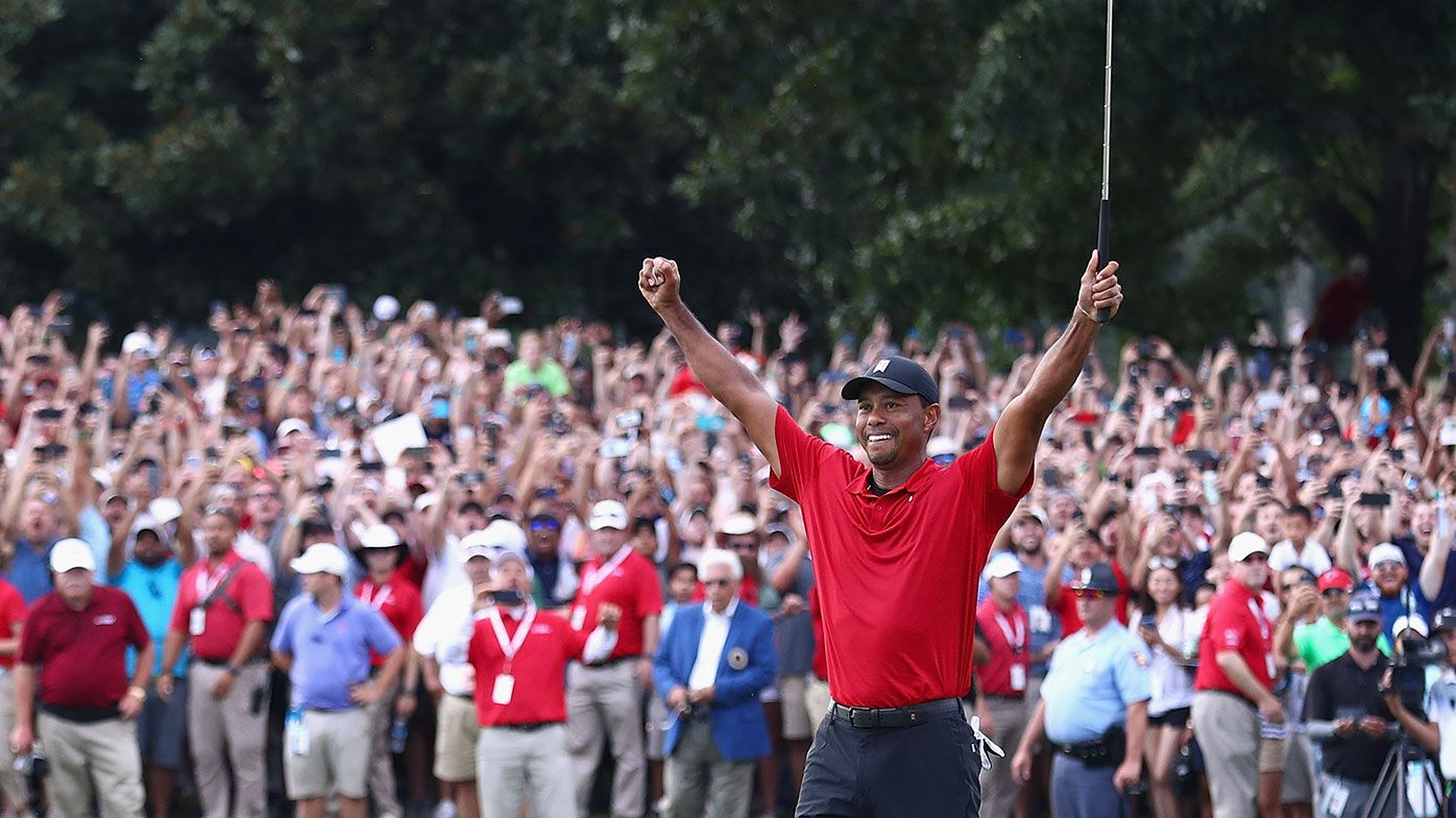 Tiger Woods recorded the 80th win of his career at the Tour Championship