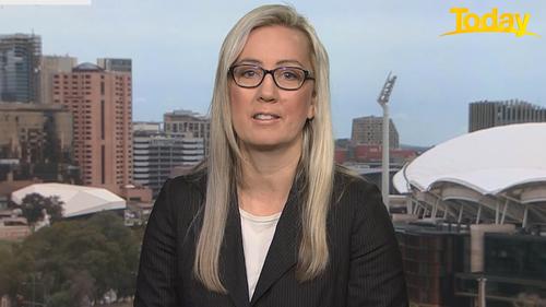 Tamara Cavenett, the President of the Australian Psychological Society in Adelaide.