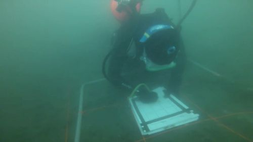 Discoverers of the wreckage said the process has been long and arduous because of the underwater visibility, but are certain the find is the correct ship.
