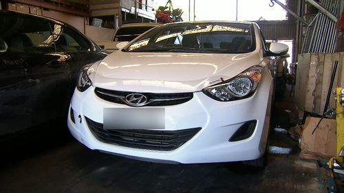 One of the offenders climbed on top of the car while Mr Long was dragged from the driver's seat, police said. (9NEWS
