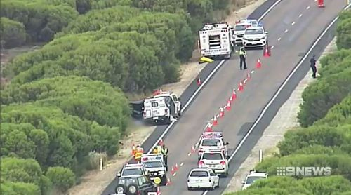 South Australia cyclist hit run crash