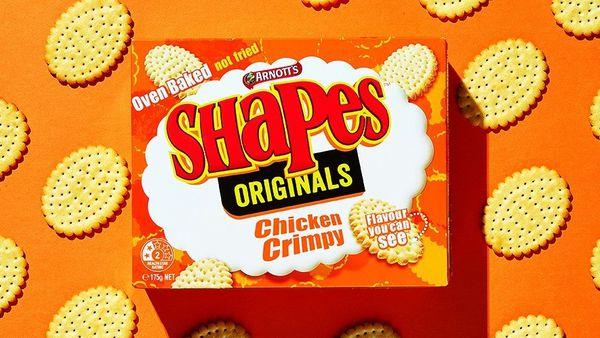 Arnotts Shapes, Chicken Crimpy