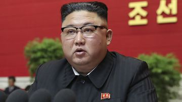 Kim Jong Un admits policy failures at congress opening.