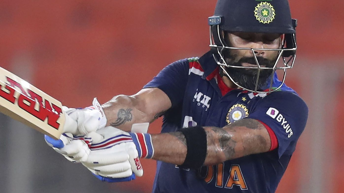 Virat Kohli stars as India beat England by 36 runs in final T20 to win series 3-2