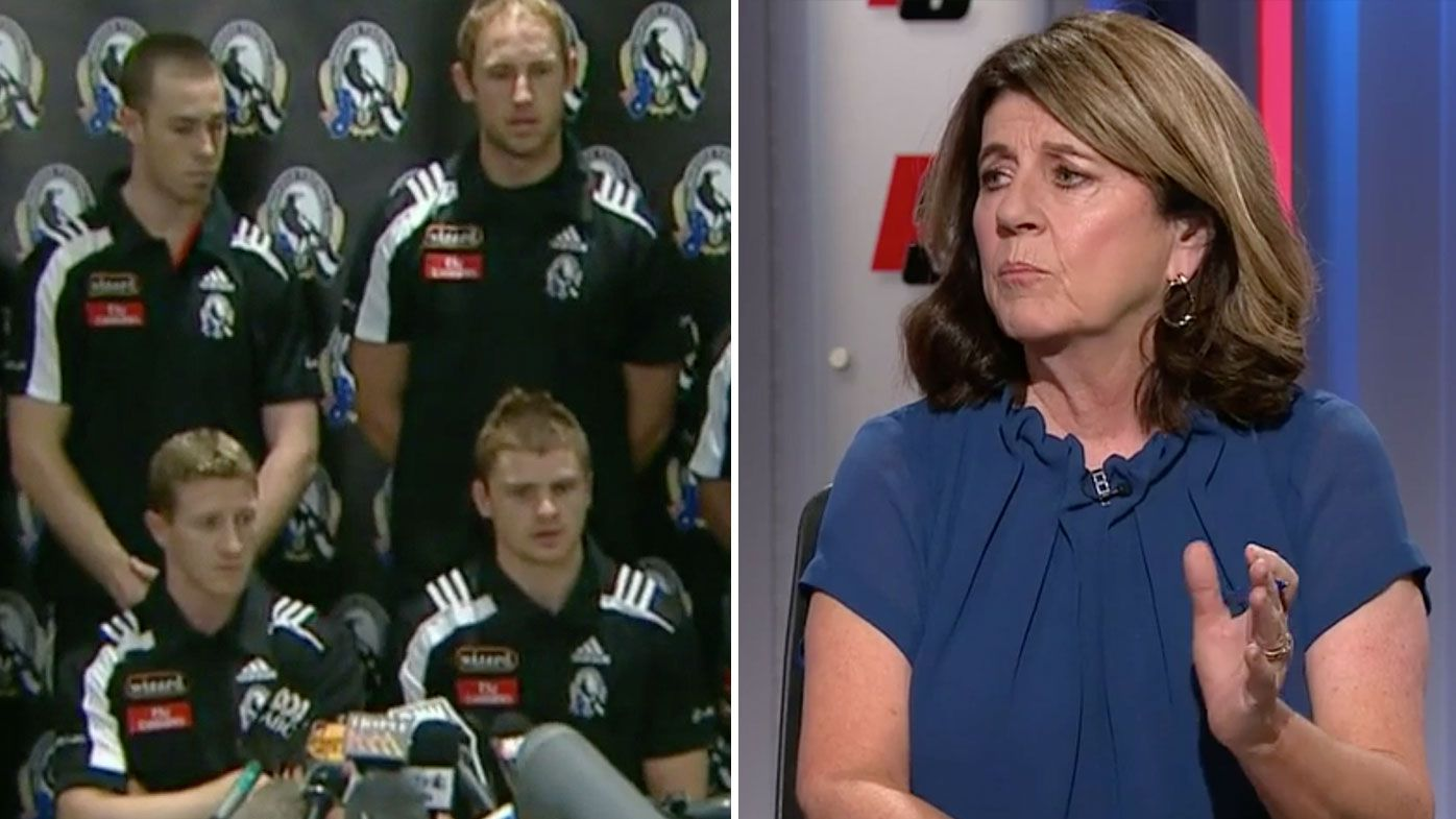 Eddie McGuire, Caroline Wilson clash over famous Collingwood drink-driving controversy