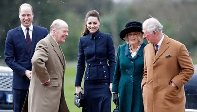 The Duke and Duchess of Cambridge visit the Defence Medical Rehabilitation Centre Stanford Hall on February 11, 2020.