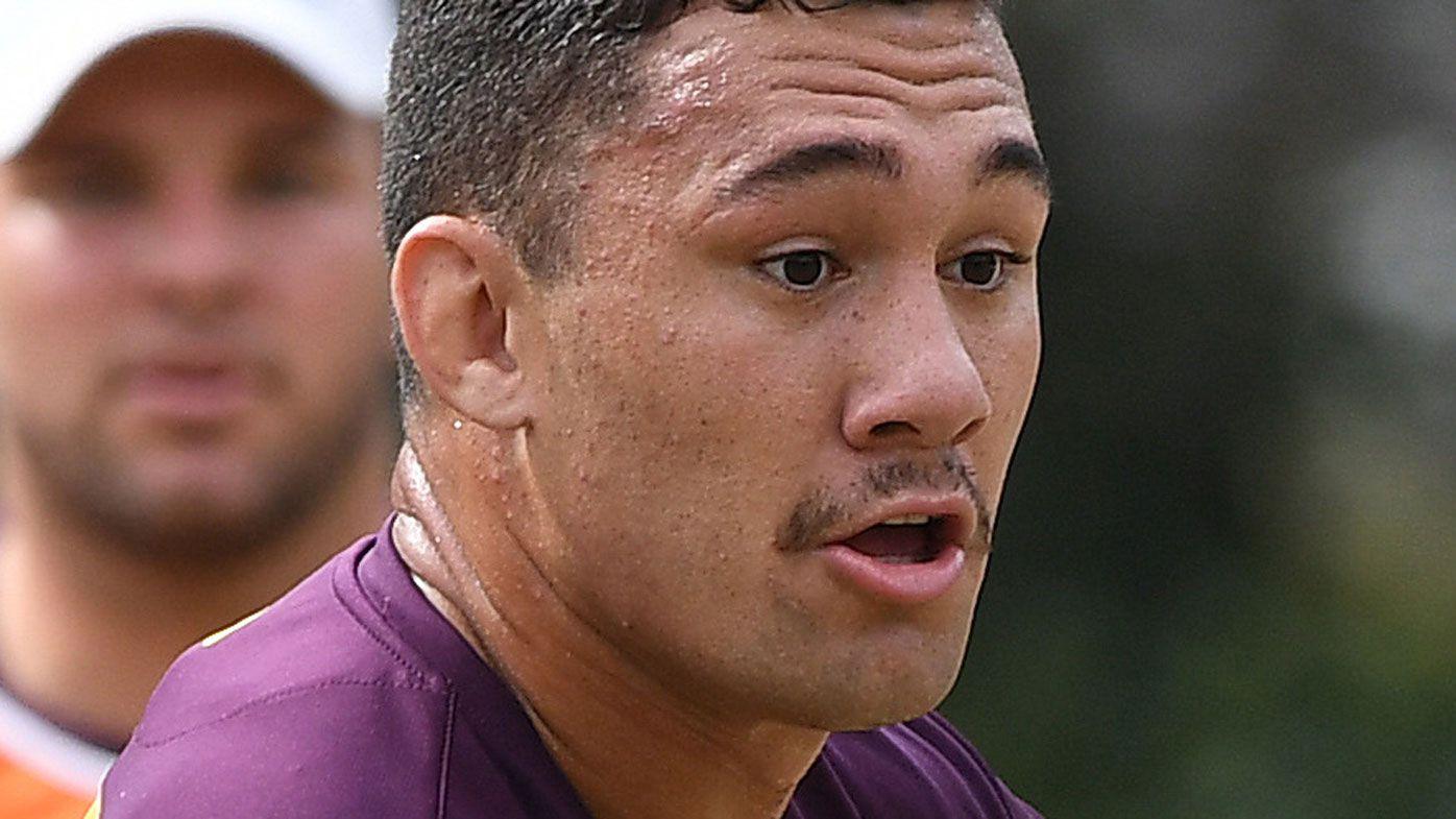 NRL news: Brisbane Broncos forward Jaydn Su'a hit with shoulder charge