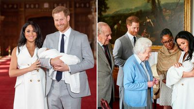 Harry and Meghan present baby Archie to the world, May 2019