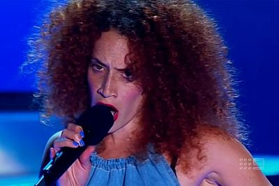 2012's most controversial contestant was disqualified after it was discovered she'd sung back-up vocals for Guy Sebastian – which was in breach of her contract with the TV show.