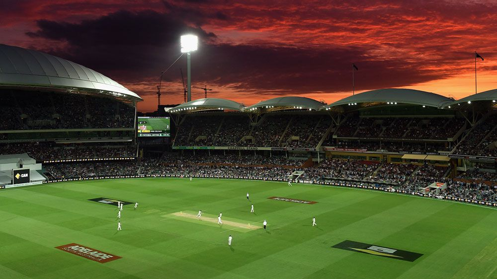 The historic first day-night Test in Adelaide. (Getty-file)