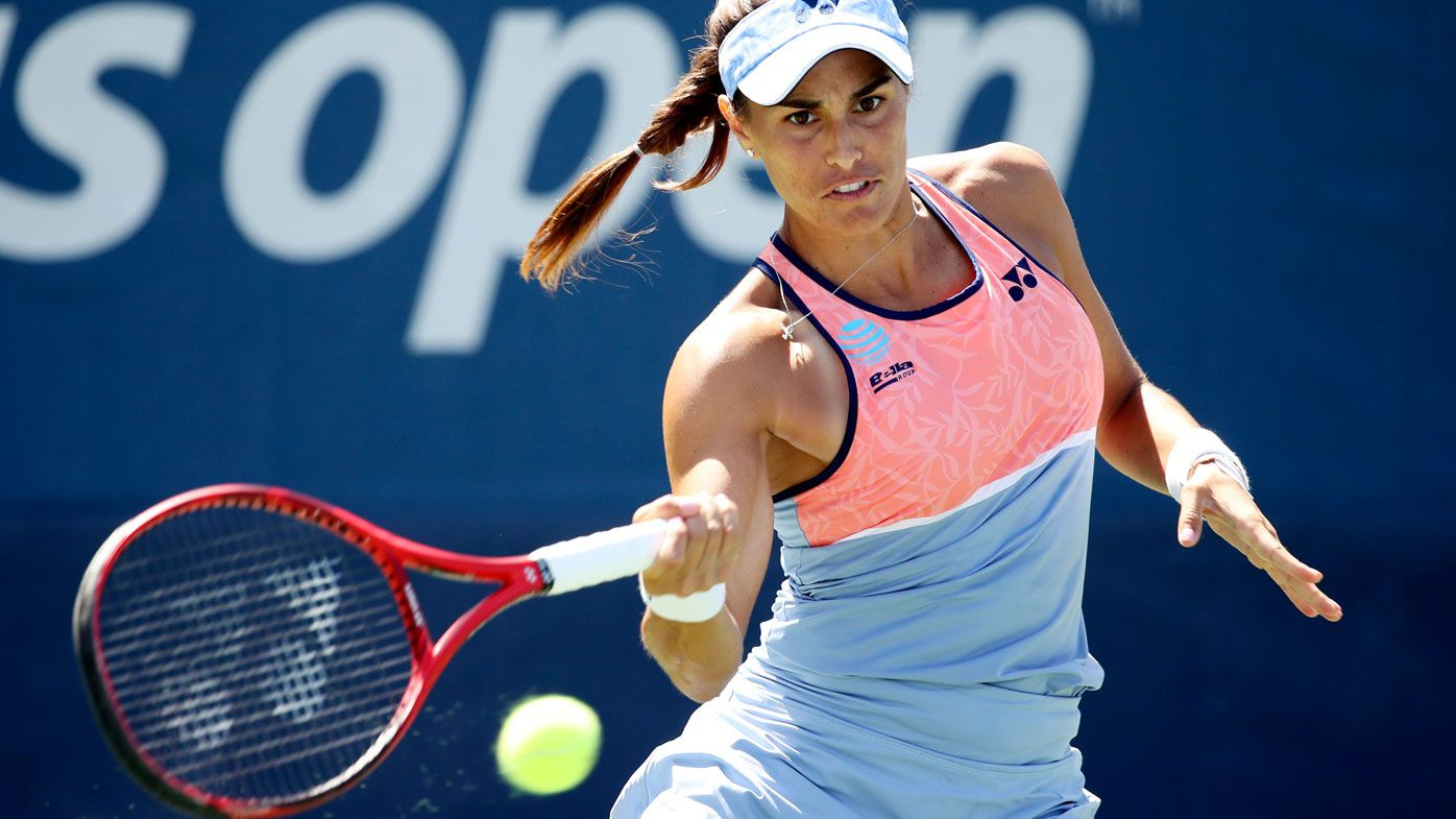 Monica Puig at the US Open