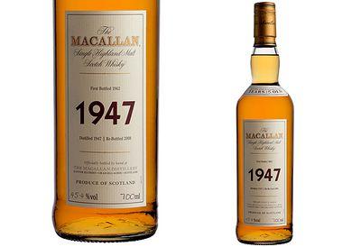 $15,000 Macallan 1947 Scotch