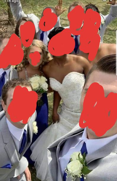 Woman shamed for wearing 'bridal' gown to son's wedding
