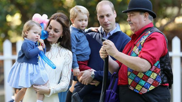Kate Middleton and Princess Charlotte and Prince George