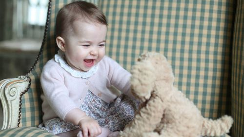 New photos of Princess Charlotte taken by Kate released
