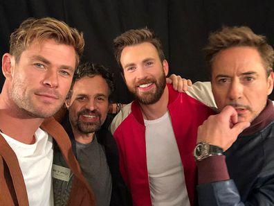 Chris Hemsworth trolls Avengers: Endgame cast