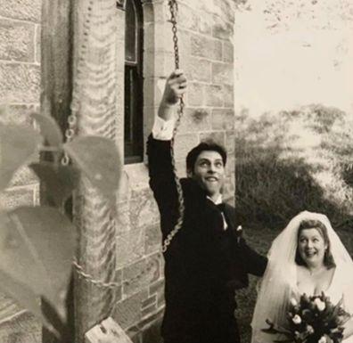 Allistair and Rechelle fun wedding day