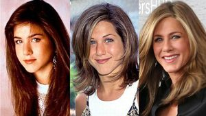 The evolution of Jennifer Aniston's face