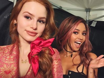 Vanessa Morgan, Riverdale co-star Madelaine Petsch