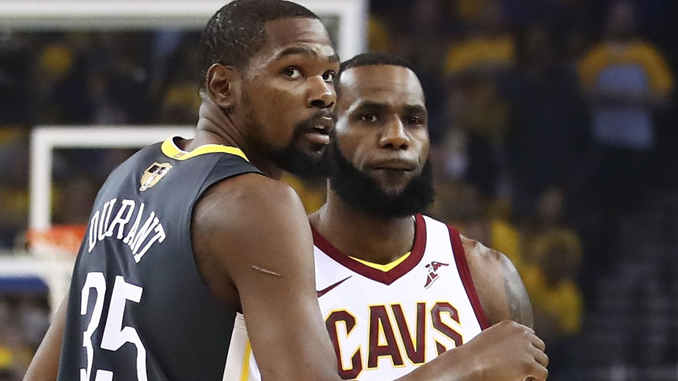 Why playing with Lebron James is 'toxic': Durant