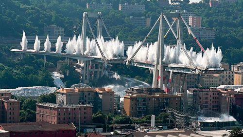 Genoa Morandi bridge