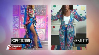 Women's Fashion online expectation v reality 6