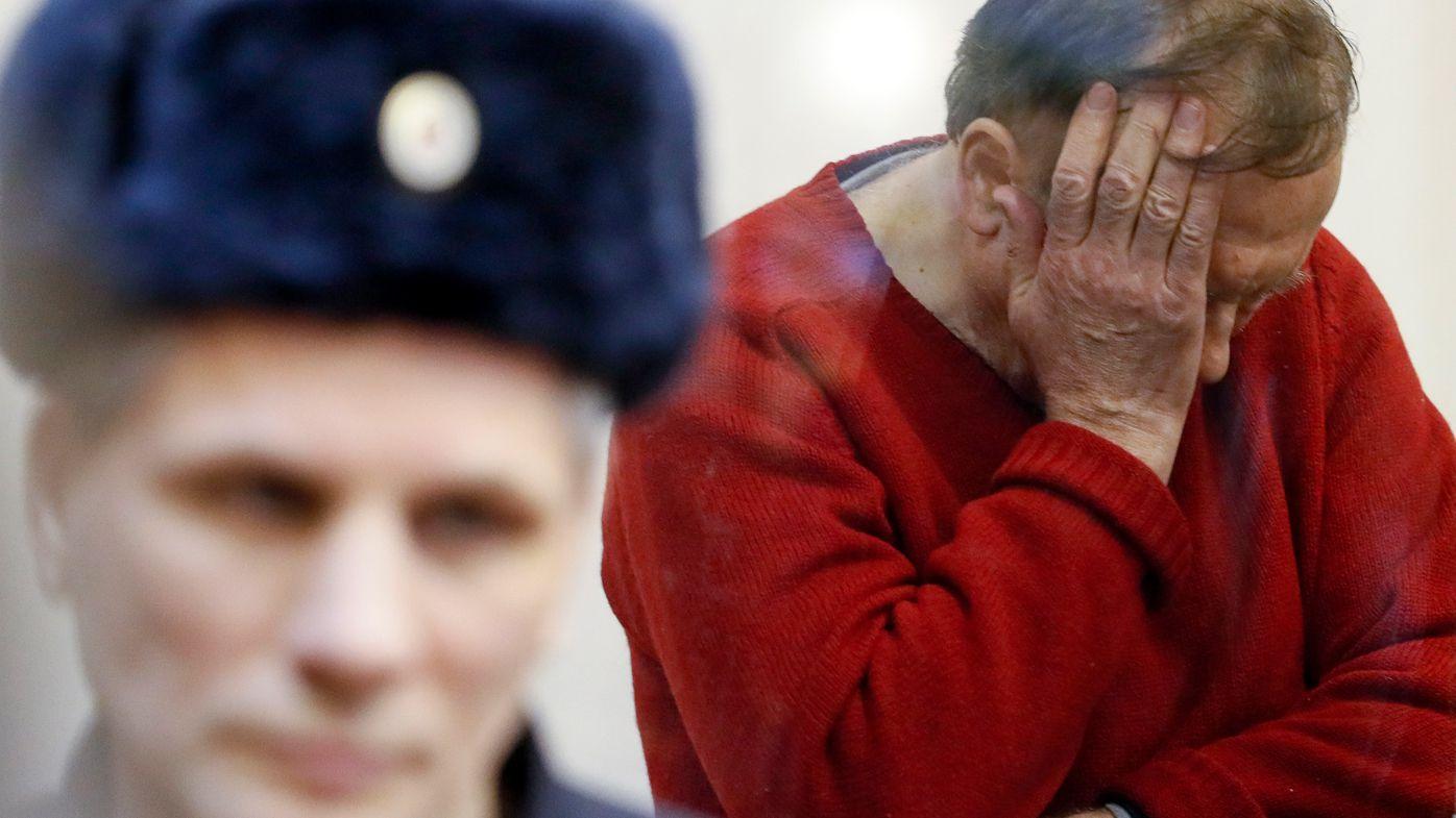 Russian court arrests murder-suspect professor