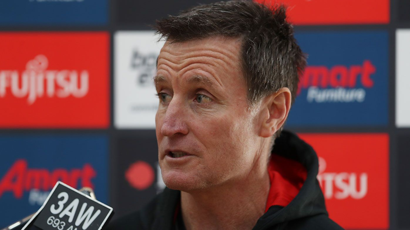 'They'd be crazy not to look': Essendon legend Matthew Lloyd urges club to consider John Worsfold replacements
